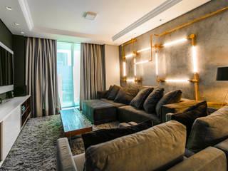 Salas de estar modernas por Saia Arquitetura Moderno