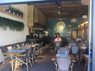 Restaurante Formentera Alcobendas Bares y clubs de estilo moderno de Camiar Design Moderno