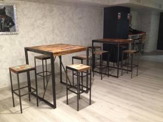 TG CLUB Bares y clubs de estilo moderno de Camiar Design Moderno