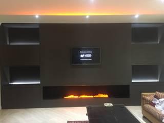 Living room by Camiar Design