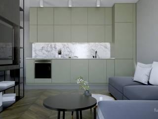 Kuchnia : styl , w kategorii  zaprojektowany przez Fuss Studio