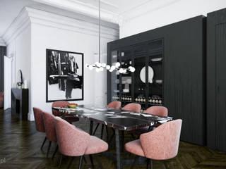 Apartament w kamienicy v.1: styl , w kategorii  zaprojektowany przez Fuss Studio