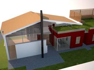 Casa unifamiliare: Case in stile  di Simone Fratta Architetto