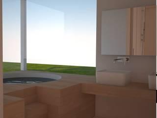 Casa unifamiliare: Bagno in stile  di Simone Fratta Architetto