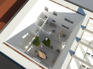 vista d'insieme:  in stile  di Simone Fratta Architetto