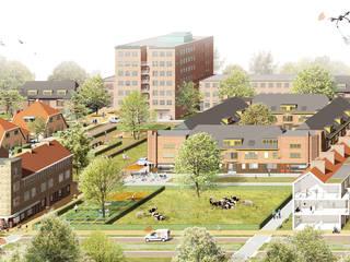Care2Share Oosterparkwijk Groningen Moderne gezondheidscentra van NOHNIK architecture and landscapes Modern