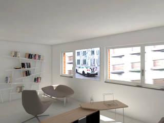 ufficio:  in stile  di Simone Fratta Architetto