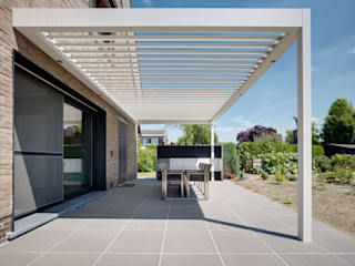 Lodge Lane Moderne tuinen van IQ Outdoor Living Modern