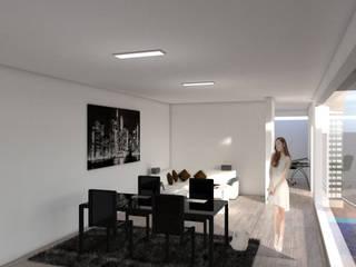 Diseño arquitectónico y decoración: Salas de estilo  por ARCHIMINIMAL ESTUDIO, Minimalista