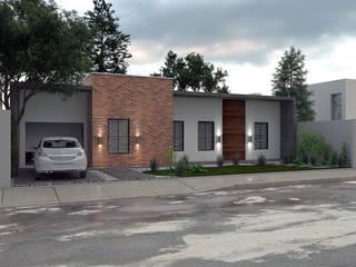 Imagem ilustrativa da proposta de renovação da fachada:   por LK Studio Arquitetura