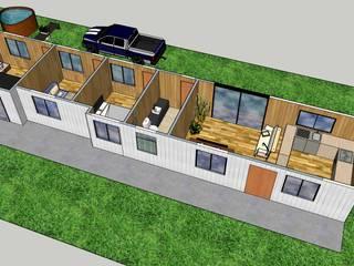 Diseño y arquitectura de casas/viviendas de Constructora ANyG Rural