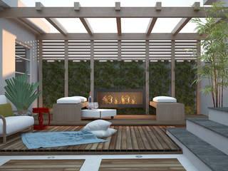 Residência RM Jardins modernos por Area 3 Arquitetura Moderno