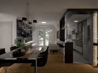 Modern Dining Room by Area 3 Arquitetura Modern