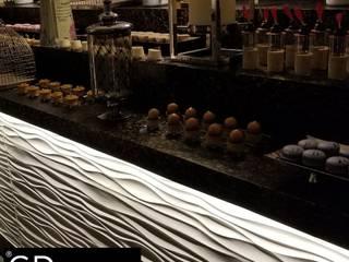 """PROYECTO HOTELERO """"THE GRAND MAYAN AT VIDANTA ACAPULCO"""" de GRUPO DALÒ PANELES DECORATIVOS EN 3D Moderno"""