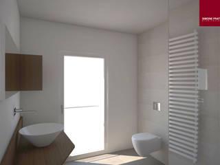 bagno principale : Bagno in stile in stile Moderno di Simone Fratta Architetto