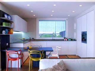 Studio Moltrasio - Zero4 Snc KitchenCabinets & shelves White