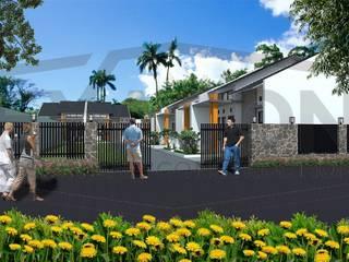 Proyek Cluster Minimalis Modern Bapak Risan - Depok 3:   by Exacon Multi Rekayasa