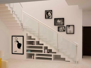Under stairs storage by homify Modern