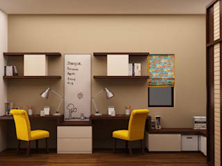 Kids Study Render :  Nursery/kid's room by NVT Quality Build solution