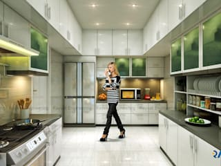Kitchen Designs:   by Rayvat Engineering