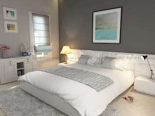 Modern Bedroom Decor:   by Rayvat Engineering