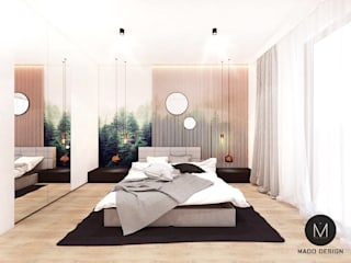 Minimalist bedroom by MADO DESIGN Minimalist