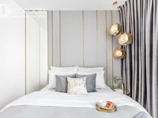 Modern style bedroom by Decoroom Modern