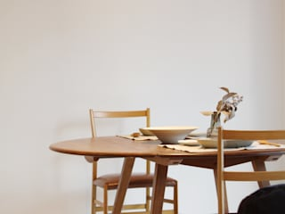 Mimasis Design/ミメイシス デザイン Dining roomChairs & benches لکڑی Wood effect