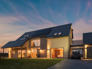 Self Build in Peterborough Modern houses by Maciek Platek - Interior and Architecture Photographer Modern