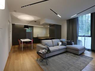 Penthouse San Marino Soggiorno moderno di Giulia Ciacci Architetto & Interior designer Moderno