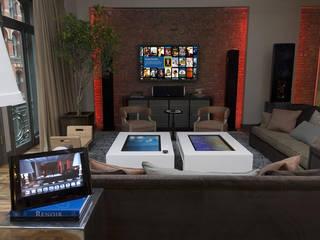 Modern living room by Omnitrack Modern
