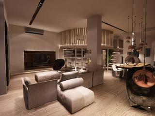 Studio di Segni Comedores de estilo moderno