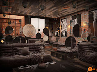 Artichok Design Commercial Spaces Wood Brown
