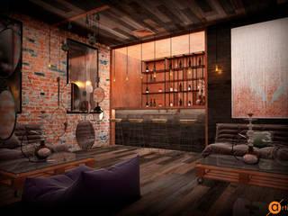 Artichok Design Commercial Spaces Bricks Brown