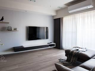 客廳電視牆 根據 極簡室內設計 Simple Design Studio 簡約風