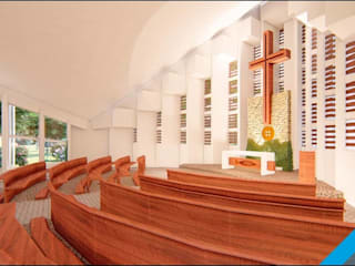 Iglesia A18 de FA Fernandez Arquitectos