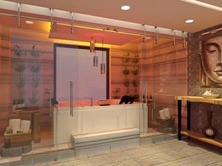 Saunas de estilo  por Alev Racu, Moderno