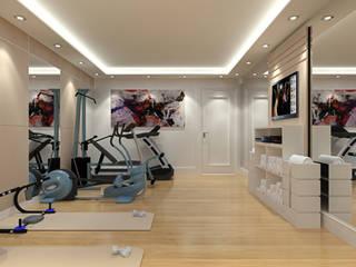 Modern Gym by Alev Racu Modern Wood-Plastic Composite