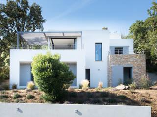 """Maison Minimaliste """" Villa FD Le Lavandou"""" par Raphaël Henry-Biabaud Minimaliste"""