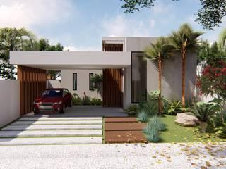 Rumah Gaya Eklektik Oleh TRAD Eklektik