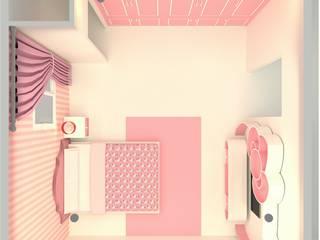 ห้อง style คิตตี้ หวานแหว: ผสมผสาน  โดย mayartstyle, ผสมผสาน