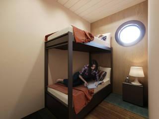 Lounge Cruise Ship: Yates y jets de estilo  por VM Rendering