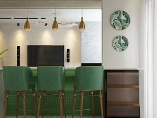 ДизайнМастер Modern style kitchen Grey
