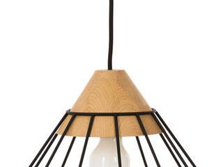 Lampa Druu-L Nuua SalonOświetlenie Drewno Czarny