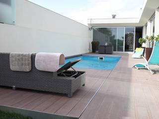 Modern pool by PRORUPER - Unipessoal, Lda. Modern