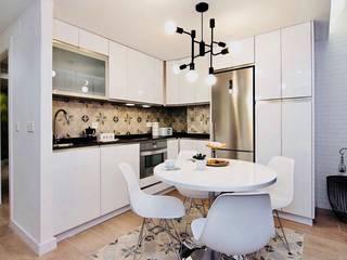 ห้องครัว โดย ESPACIOS, ALBERTO ARANDA, ผสมผสาน