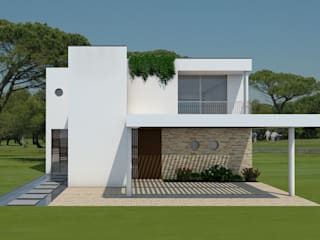 Casa Modular: Casas passivas  por Evomod - Construções Modulares