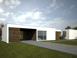 Casa Modular:   por Evomod - Construções Modulares