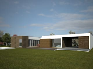 Casa Modular:   por Evomod - Construções Modulares,Moderno