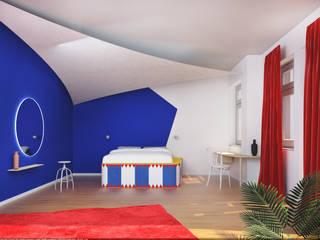 3D Visualisierung - Doppelzimmer:  Hotels von Minibau